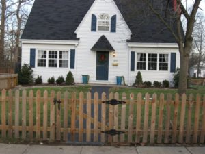 Cape Cod Picket Fence