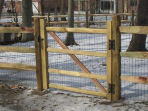 split rail gate