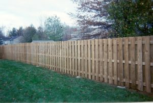 treated privacy fence
